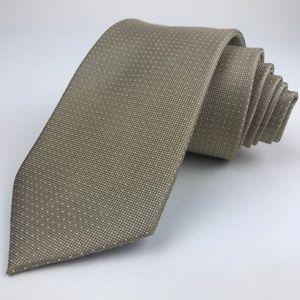 Nautica All Silk Classic Width Necktie Taupe